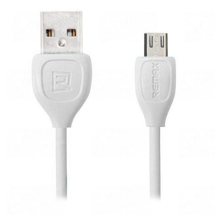 Кабель Remax RC-050m Lesu micro USB-USB (белый)